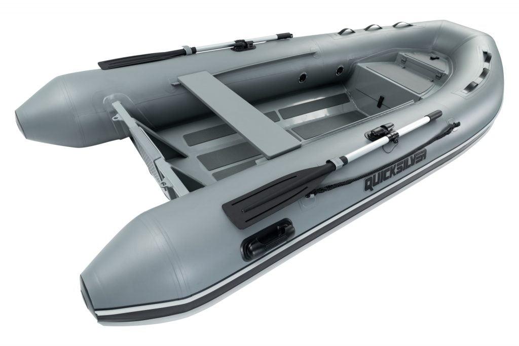 QS 350 Aluminium RIB Hydroplan duk